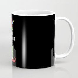 Unicorn Elf Family Group Christmas Gift Coffee Mug