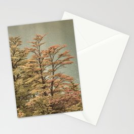 Nature Scene Colored Trees at Glacier Lake- Patagonia Argentina Stationery Cards