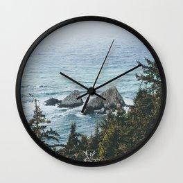Pacific Northwest Wall Clock