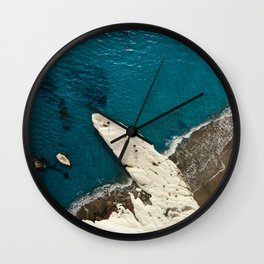 Governor's beach rock Wall Clock