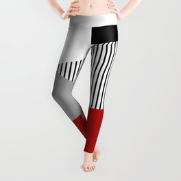 Colorful geometric design Leggings