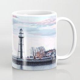 Lighthouse on Lake Superior Coffee Mug