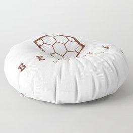 Beehive interior design Logo Floor Pillow