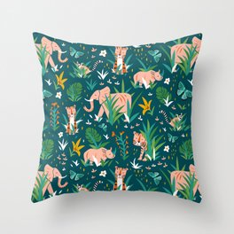 Endangered Wilderness Throw Pillow