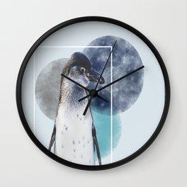 Pinguinlove Wall Clock