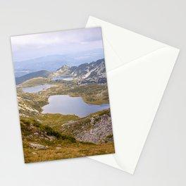 Rila lakes Stationery Cards