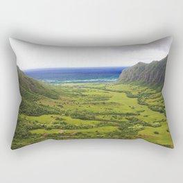 Jurassic Trenches  Rectangular Pillow
