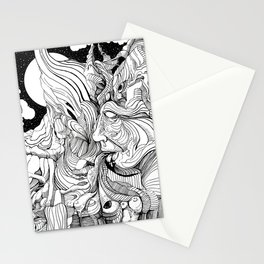 Throwing up my Negativity Stationery Cards