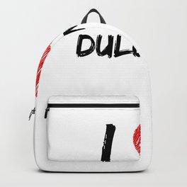 I Love Dulcimers Backpack