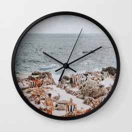 capri, italy Wall Clock