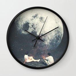 My Moon My Man My Love Wall Clock