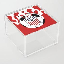 United States Soccer Acrylic Box