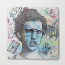 Napoleon Dynamite - Probably The Best Drawing I've Ever Done Metal Print