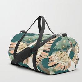 Golden Crane Duffle Bag