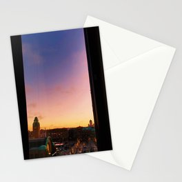 Sunrise Over Helsinki Stationery Cards