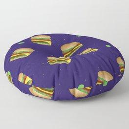 Cheeseburger Dreams Floor Pillow