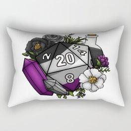 Pride Asexual D20 Tabletop RPG Gaming Dice Rectangular Pillow