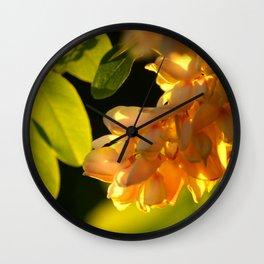 Robinia tree Wall Clock