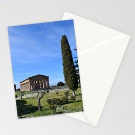 templi di paestum Stationery Cards