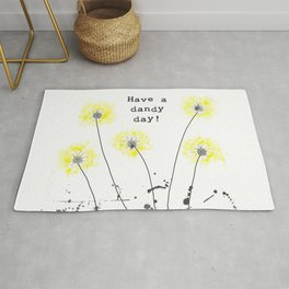 Have a dandy day! Rug