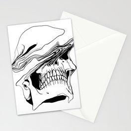 Skull (Liquify) Stationery Cards