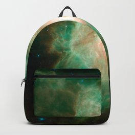 the horse becomes the phoenix | space 004 Backpack