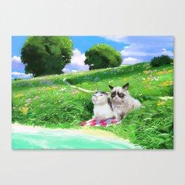 Good day? Canvas Print