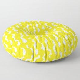 Davis in Sunshine Yellow Floor Pillow