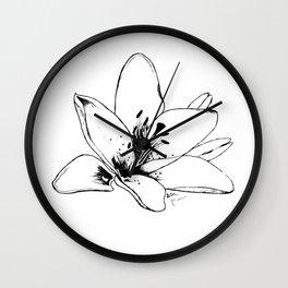 Lily 2 Wall Clock