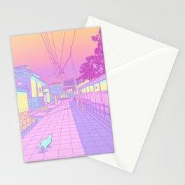 Kyoto Cats Stationery Cards