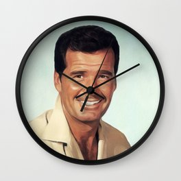 James Garner, Vintage Actor Wall Clock