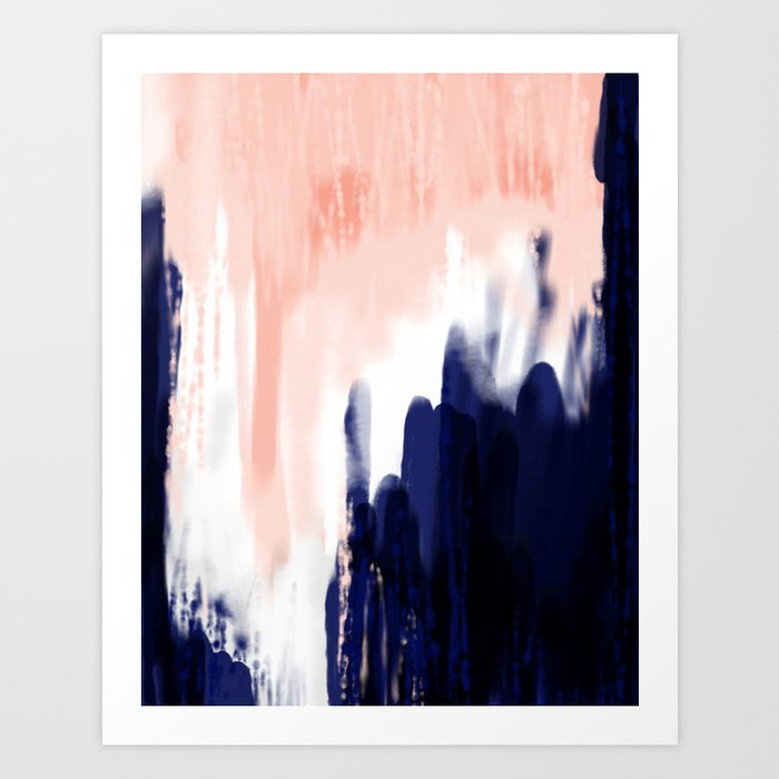 The Blue Kunstdrucke
