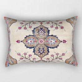 Khoy  Antique Azerbaijan Persian Rug Print Rectangular Pillow