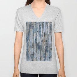 Indigo Waters Tie Dye Unisex V-Neck