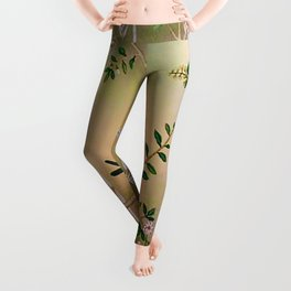 Chinoiserie Style Leggings