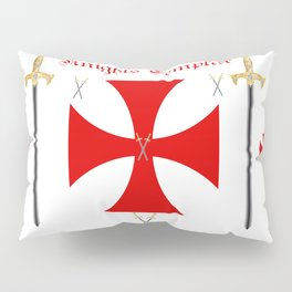 Knights Templar Pillow Sham