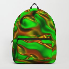 Abstract Fluid Waves Backpack