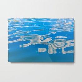Clouds on Water Metal Print