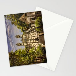 Portugal, Minho district, Braga, the sanctuary of Bom Jesus and the baroque stairway Stationery Cards