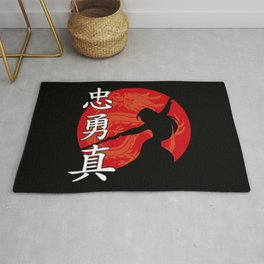 The Chinese Warrior Rug