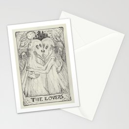 The Lovers Tarot Stationery Cards