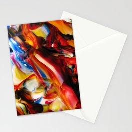 whirled piece Stationery Cards