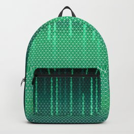 Green Cyber Space Backpack