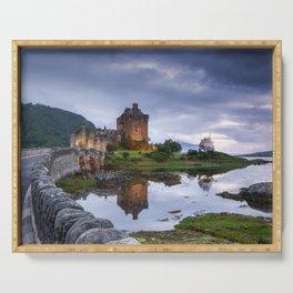 Scottish Castle II Serving Tray
