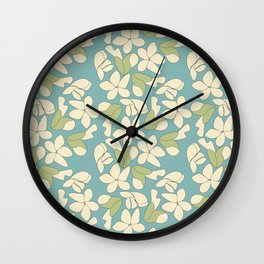 Almond blossom Wall Clock