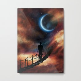 The Next Right Step Metal Print