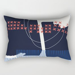 Something's Askew Rectangular Pillow