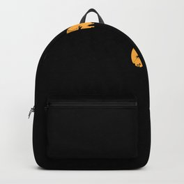 Creepy Follow Scary - Sweet Halloween T Shirt Backpack