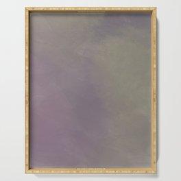 Murky, Abstract Art Serving Tray