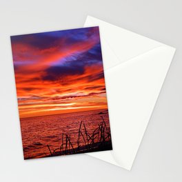 The Mighty Saint-Lawrence at Dawn Stationery Cards